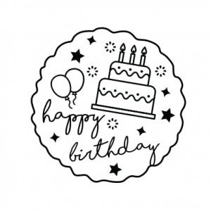 "Stempel ""Happy Birthday 2"""