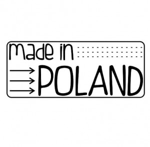 "Stempel ""made in Poland"""